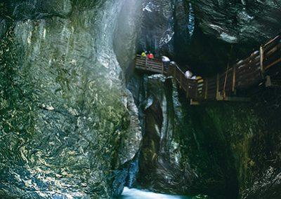 Wandern zu den Krimmler Wasserfällen